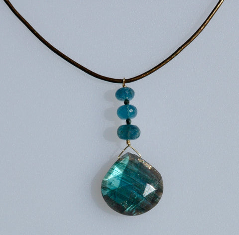 Labradorite Drop