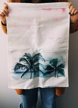Load image into Gallery viewer, palm tree tea towel