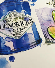 Load image into Gallery viewer, Hendricks in blue