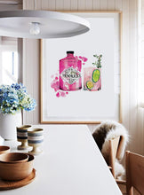 Load image into Gallery viewer, Hendricks Gin bottle