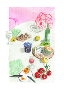 Still life luncheon