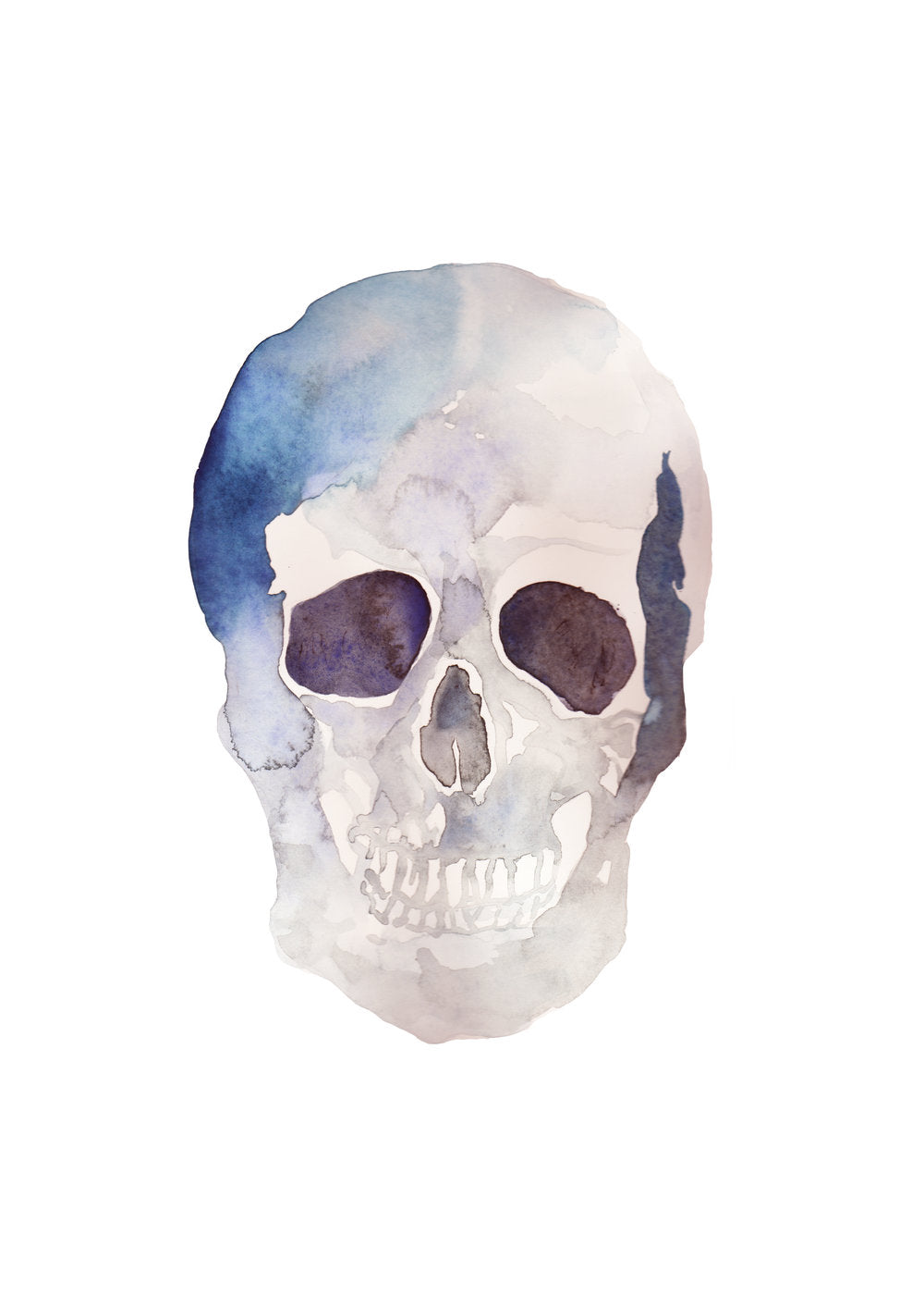 the purple skull print