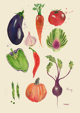 Load image into Gallery viewer, Vegetable Chart