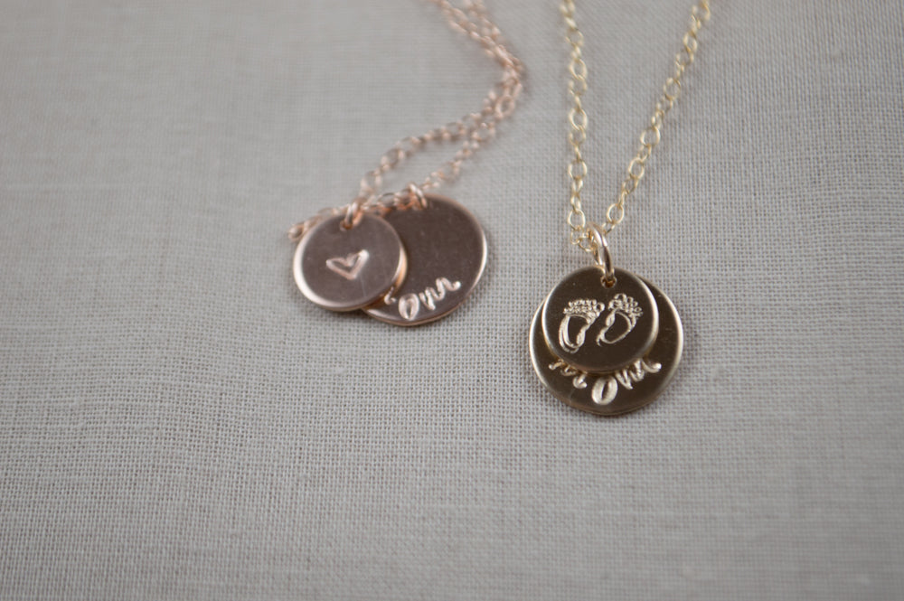 Mama Discs Necklace