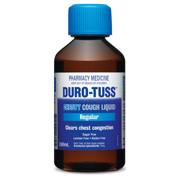 Duro-Tuss Chesty Cough Regular 200mL