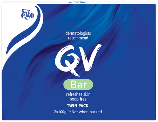 Ego QV 100g Bar Twin Pack