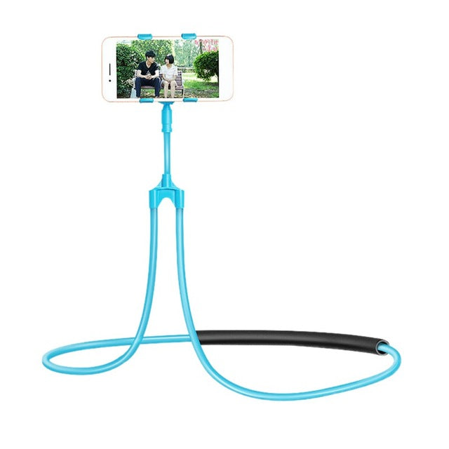 Flexible Mobile Phone Neck Bracket