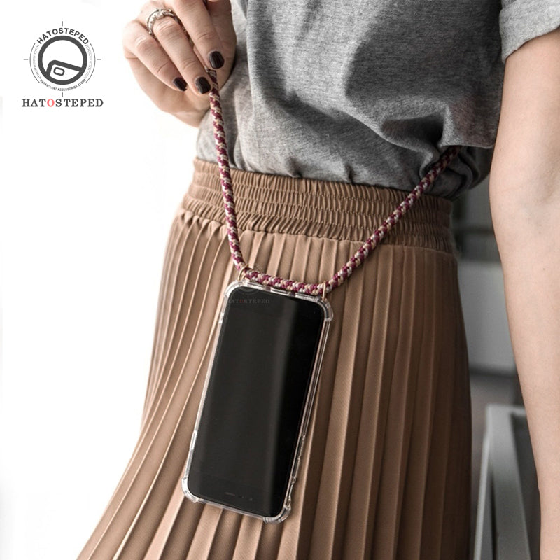 Case & Shoulder Lanyard for iPhone