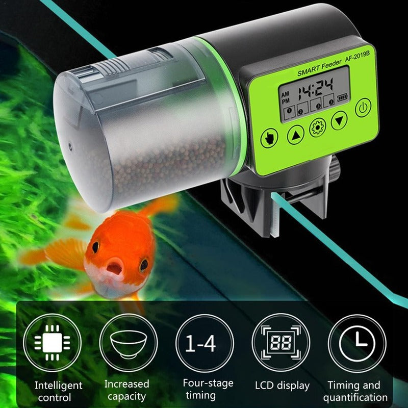 Automatic Food Dispenser for Fish Aquarium