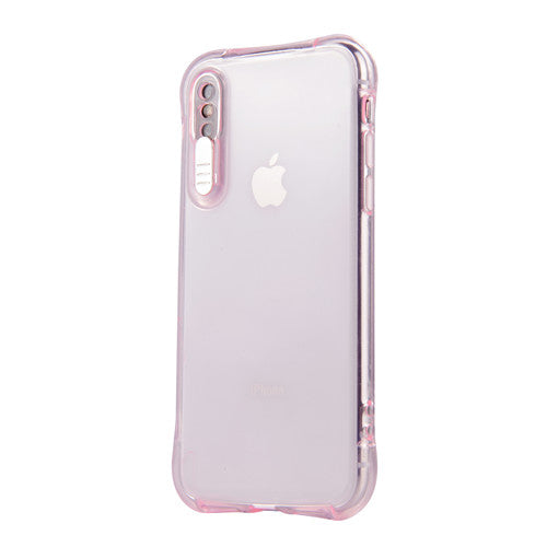 back Cover Capa For apple iphone X XS XR XS max 5 5s SE 6 6S 7 8 plus 11 Coque Soft TPU Colorful LED Flash Light Up Phone Case