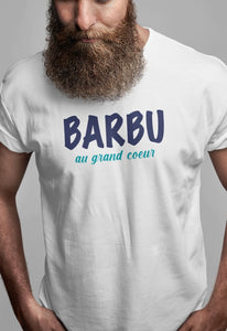 Tee-shirt-Barbu au grand cœur