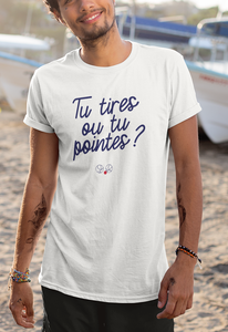 Tee-shirt | Tu tires ou tu pointes ?