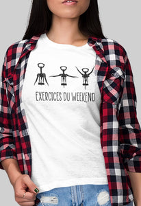 Tee-shirt Femme | Exercices du Weekend _ Nantes_Saint_Nazaire