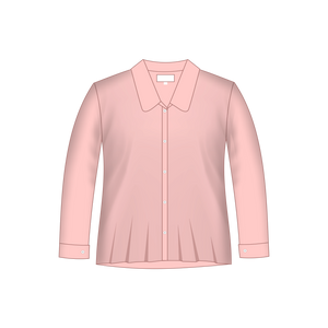 Senior Pink Long Sleeve Blouse Years 11 - 12
