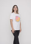 TOMNATIVE - FLAMINGO FEVER - T-SHIRT WHITE (TN)