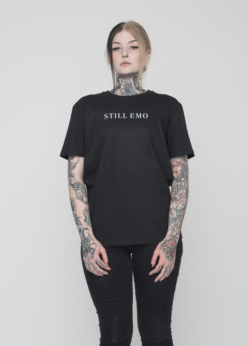 STILL EMO -  STILL EMO T-SHIRT (STEM)