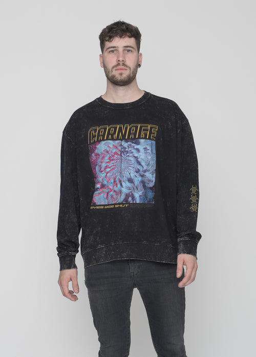 CARNAGE - EYES WIDE SHUT SWEATER (CRNG)
