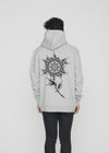 RENE KLEIN TATTOO - MANDALA HOODIE HEATHER GREY (RKT)