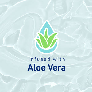 infused with aloe vera