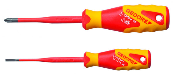 Gedore Vde Screwdriver set, 2 pcs (Gedore Vde 2162-2172 PH-02) (2928736)