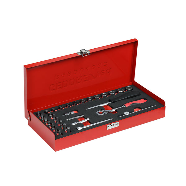 GEDORE RED Double box ring set size6-32mm 12pcs