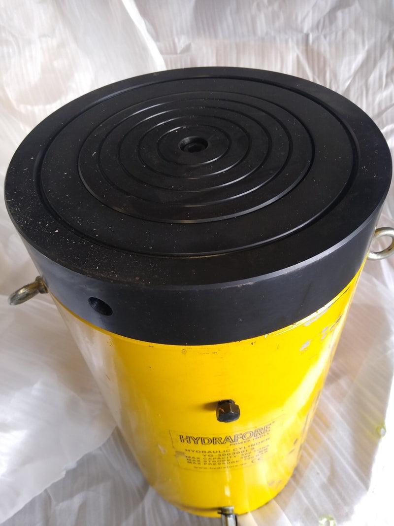"Single-acting Cylinder with Lock nut (300tons 12"") (YG-300300LS) USED"