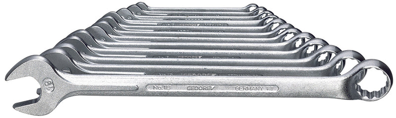 Gedore Combination spanner set 12 pcs 6-19 mm (Gedore 1 B-0112) (6012840)