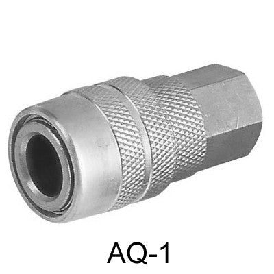 "10pcs AIR CONNECTOR 1/4"", Internal thread, Female (AQ-1-10)"