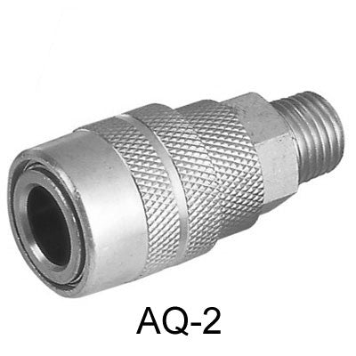 "10pcs AIR CONNECTOR, 1/4"" , External thread, Female (AQ-2-10)"