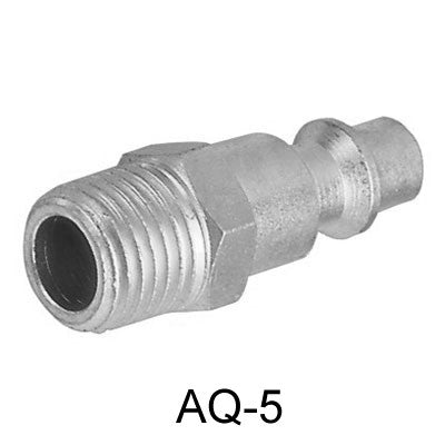 "10pcs Air Connector, 1/4"", US-Type, External thread, Male (AQ-5-10)"