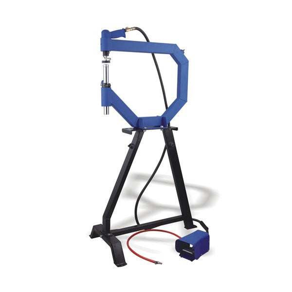 Pneumatic Planishing Hammer (WFH-1041F) with Cast-Iron Stand