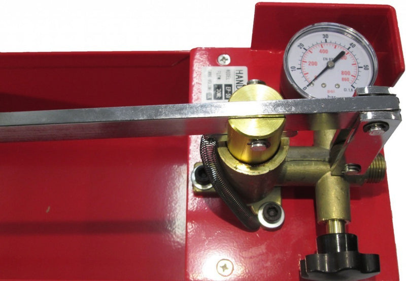 "Pressure Test Pump Hand Pump Manual 800psi 1/2"" Connection (EP-50)"