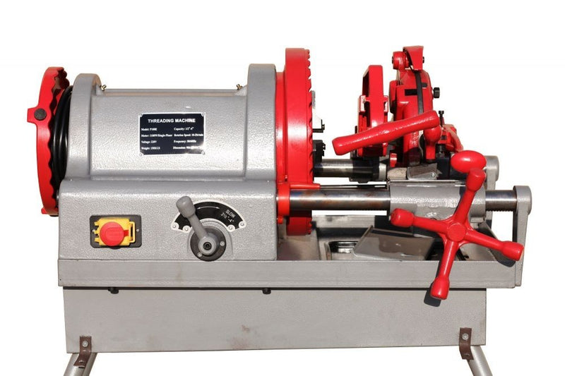 "Electric Pipe Threader Threading Machine 1/2"" - 4"" Quick Opening Die Head (P100E)"