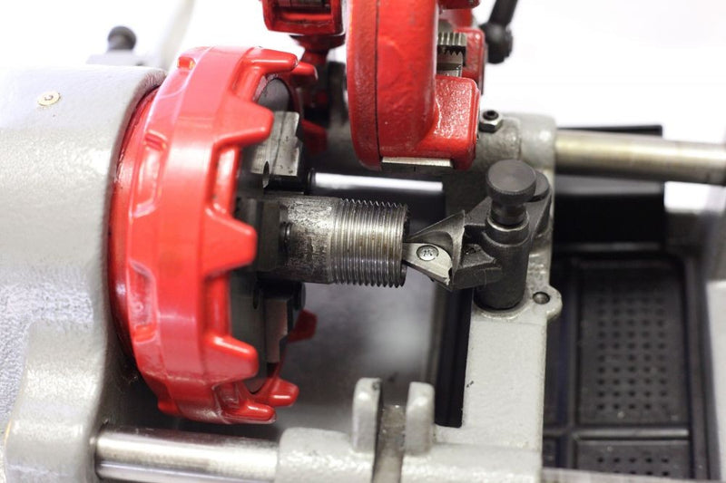 "Electric Pipe Threader Threading Machine (1/2"" - 1"") Quick Opening Die Head P25A (P25A)"