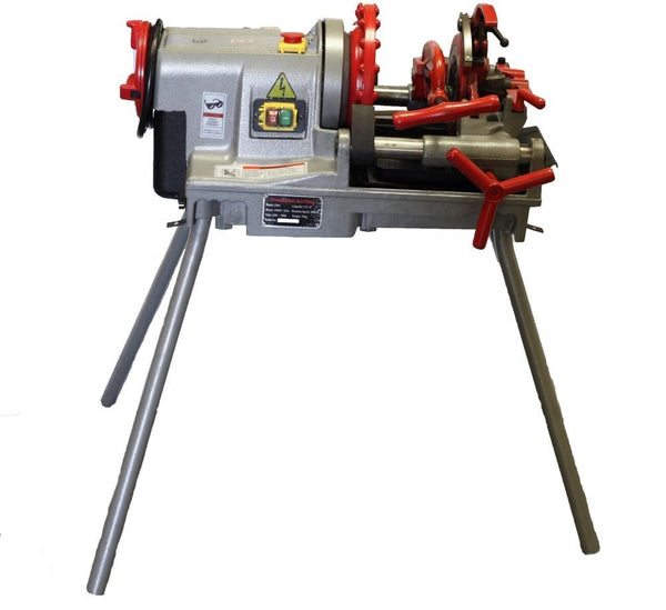 "Electric Pipe Threader Threading Machine (1/2""-2"") Self Opening Die Head (P50C)"