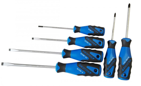 Gedore 3C screwdriver set 6 pcs IS 4-8 PZ 1+2 (Gedore 2150-2160 PZ-06) (1482300)