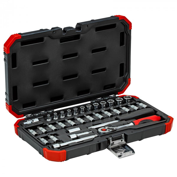Gedore Socket set size 1/4 size 4-13mm 33pcs (Gedore R49003033) (3300051)