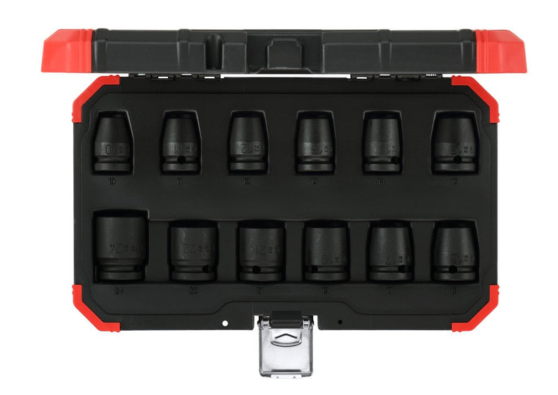 Impact socket set 1/2 12pcs (GEDORE R63003012) (3300574)