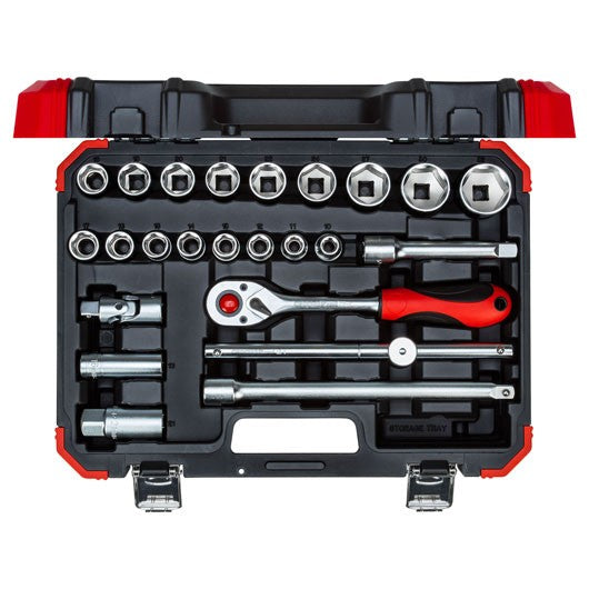 "Gedore  Socket set 1/2"" size 10-32mm 24pcs (Gedore  R69003024) (3300055)"