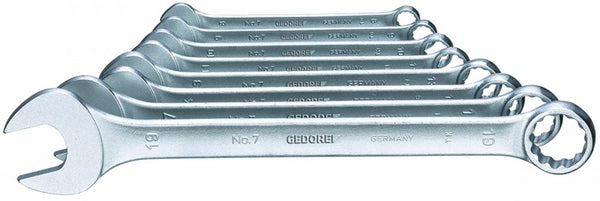 Gedore Combination spanner set 8 pcs UD profile 10-19 mm (Gedore SB 7-08) (3100227)
