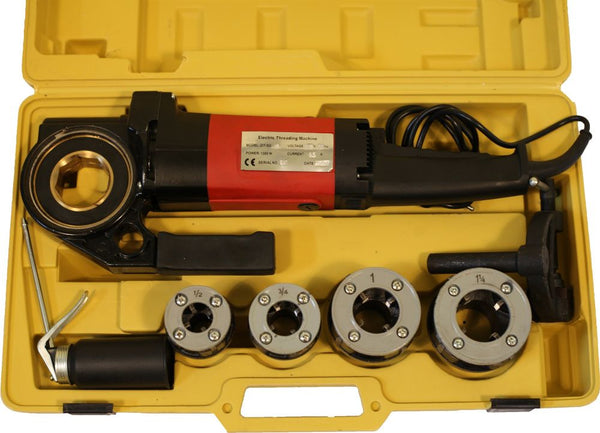 "Portable Electric Pipe Threader Threading Machine NPT 1/2; 3/4; 1, 1-1/4"" (P-30B)"