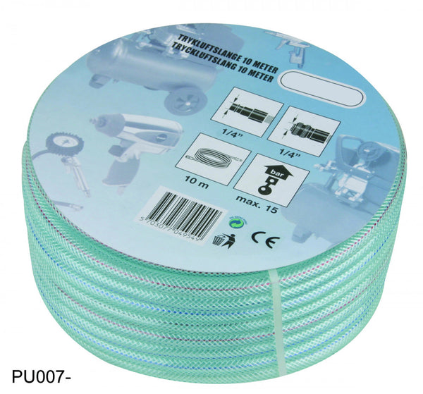 Air Hose 6X11MM 10m (32ft), US-Type, PVC (PU007-10)