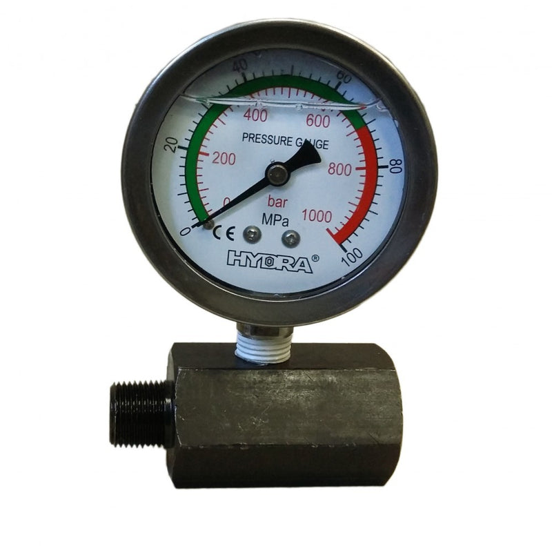 "Hydraulic Pressure Gauge wit Stand (11.500psi - 2 1/2"") (SPG60)"
