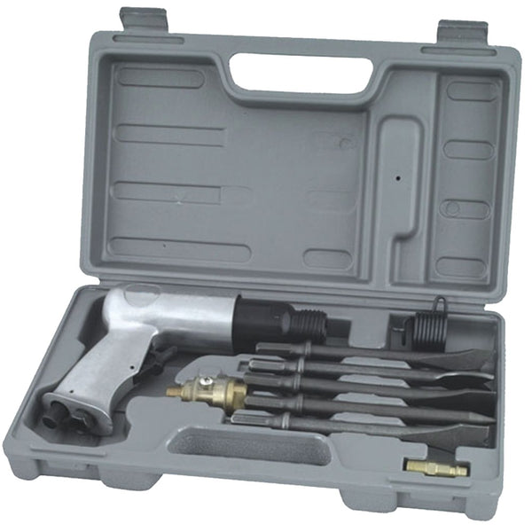 Air Hammer Kit, 10pcs, 7.48in (WF-037)