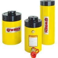 Single Acting Lock Nut Cylinder - WREN HYDRAULIC (WREN_SLN)