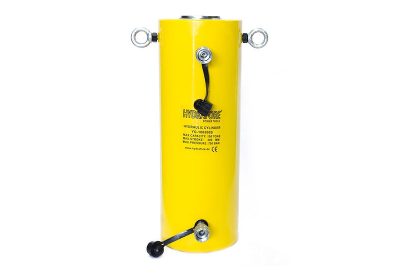 "Double-acting Hydraulic Cylinder (100 Tons - 12"") (YG-100300S)"