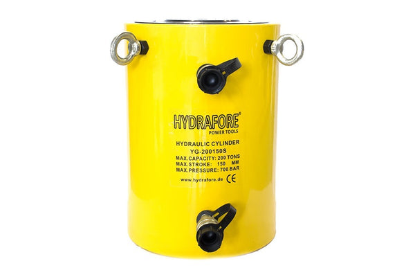 "Double-acting Hydraulic Cylinder (300 Tons - 12"") (YG-300300S)"