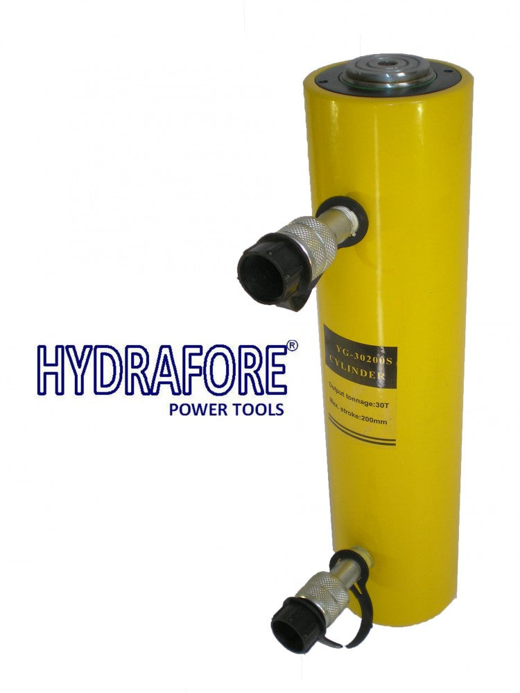"Double-acting Hydraulic Cylinder (30 Tons - 8"") (YG-30200S)"