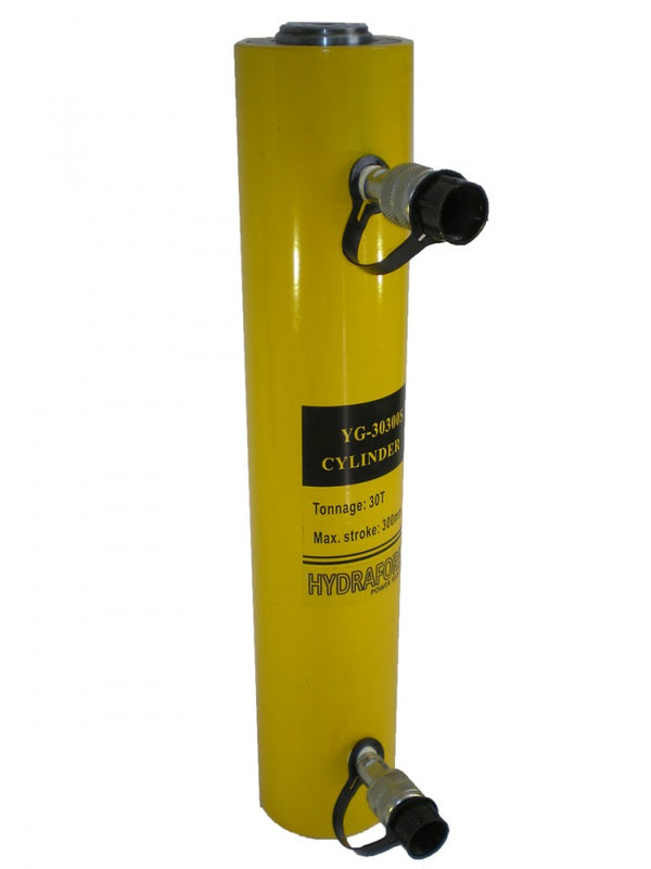 "Double-acting Hydraulic Cylinder (30 Tons - 12"") (YG-30300S)"