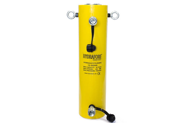 "Double-acting Hydraulic Cylinder (50 Tons - 12"") (YG-50300S)"